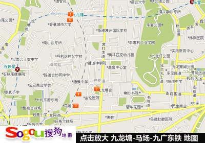 香港九龙塘赛马场地图