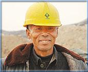 参与奥运建设的农民工