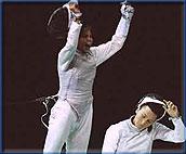 特里利尼:金牌在她的剑锋上