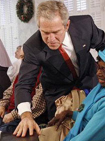 布什最囧表情
