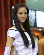 2009 上海车展 车模 张丹丹