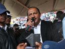 马达加斯加执政党在首都举行群众集会