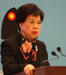 世界卫生组织总干事陈冯富珍