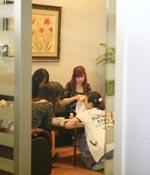 休息的时候聊聊天 最爱女主播 2009上海车展