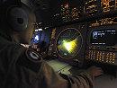 一架侦查机参与失踪客机搜寻工作